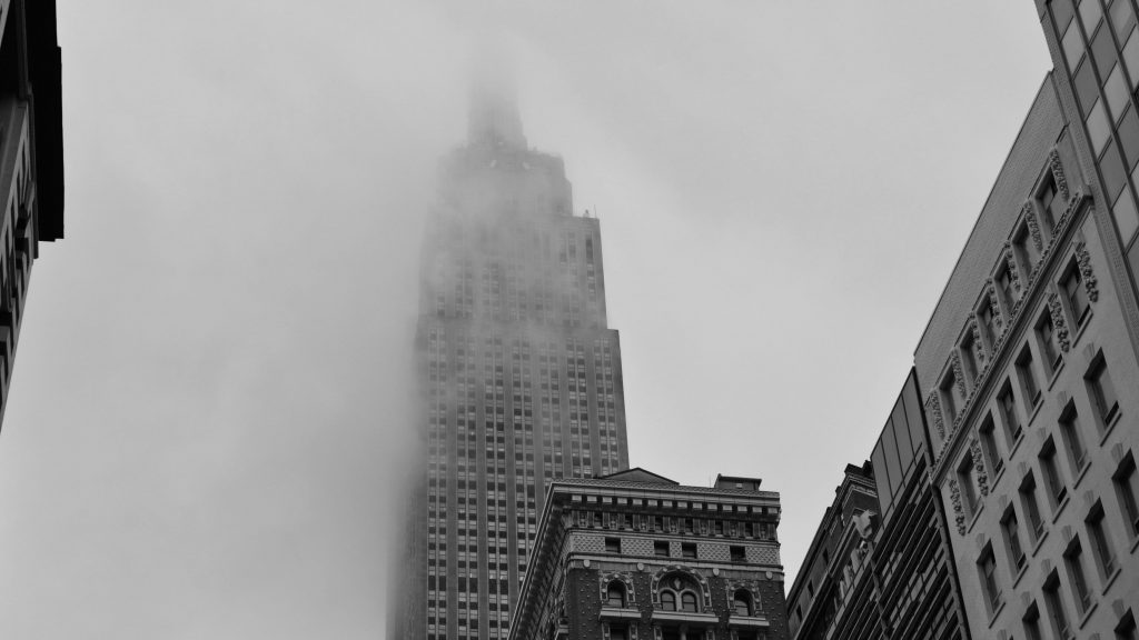 Empire State Building BW