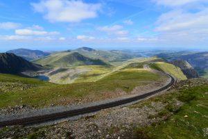 Mountain Railway Snowdonia
